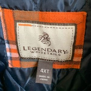 Legendary Whitetails Jackets & Coats - Legendary Whitetail 4xlt winter jacket